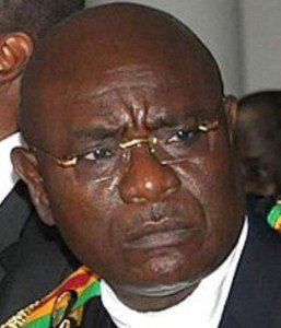 Rt. Hon. Dr. Edward Doe Adjaho, Speaker of Parliament