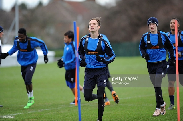 Daniel Amartey training with Leicester City.