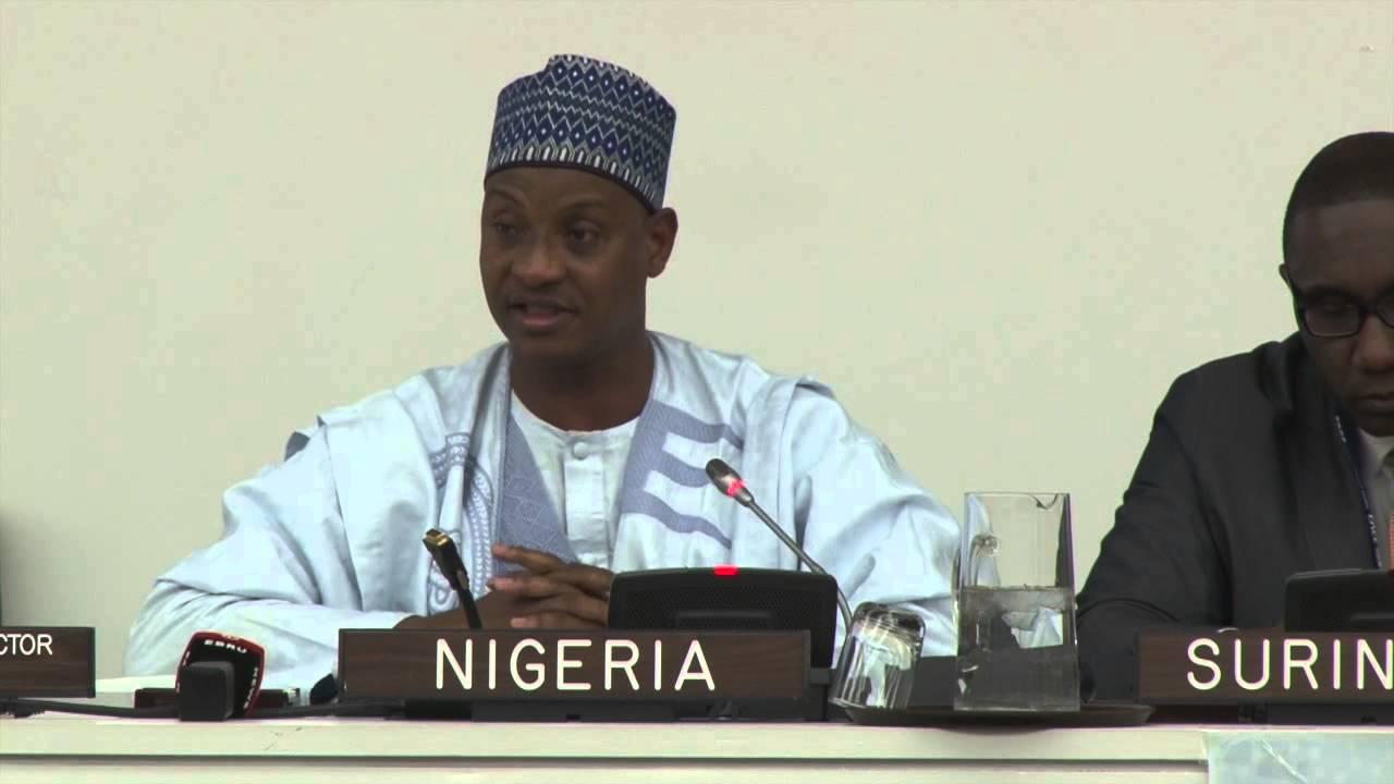 Nigerian Ambassador Usman Sarki