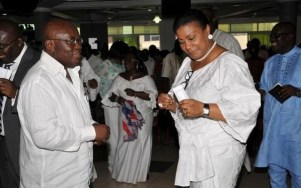 Akufo Addo and wife