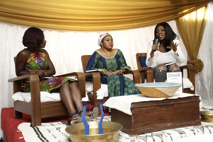 Martha Ankomah, Rama Brew and Yvonne Okoro