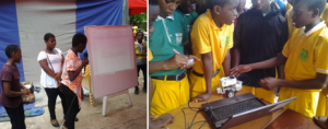Business Incubator: Children are led to discover the use computers as a tool to facilitate problem solving and facilitate businesses and organizations- Madonna School Koforidua
