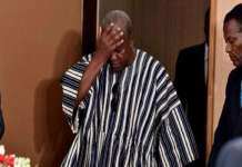 mahama disappointed