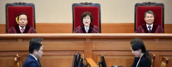South Korean acting Constitutional Court