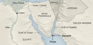 Saudi-Israeli Military Cooperation on the Island of Tiran: Revealed