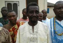 Numo Tei Dortey, Family head of the Kojo We Clan at Kpone in the Kpone Traditional Area