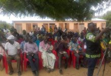 Stakeholders at the durbar