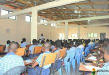 Freeman Ahegbebu facilitating group activities