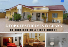 5 top guesthouses in Ghana