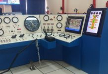 A Well Control Simulator at RMU installed by OGCBP