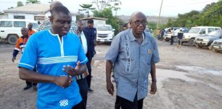 Minister for the Interior, Hon Ambrose Dery
