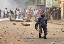 Togo masses standoff with security forces