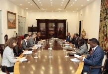 Meeting with Mr. Mário Centeno, Minister of Finance and Governor of Portugal for the AfDB and ADF