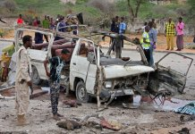 Somalian attack on April 9, 2017
