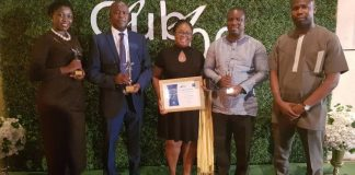 MTN Team displays the awards received