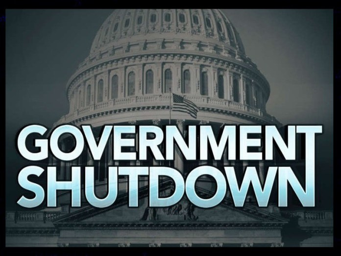Federal Government Shutdown Graphic for Jan. 2018