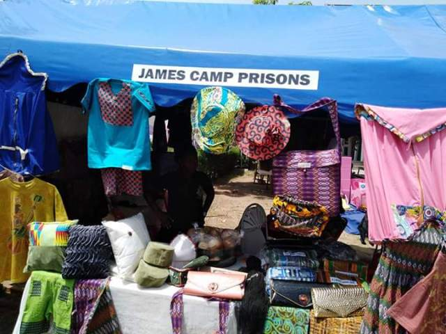 Products from James Camp Prison in Photos