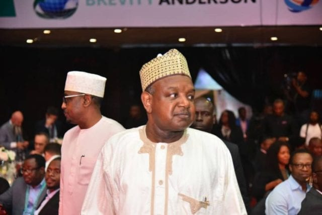 Governor of Kebbi, HE Atiku Bagudu, FIN outstanding visionary leadership award.