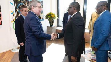 GOC President visits IOC headquarters