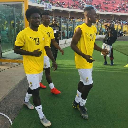 Ghana Black Stars Walking