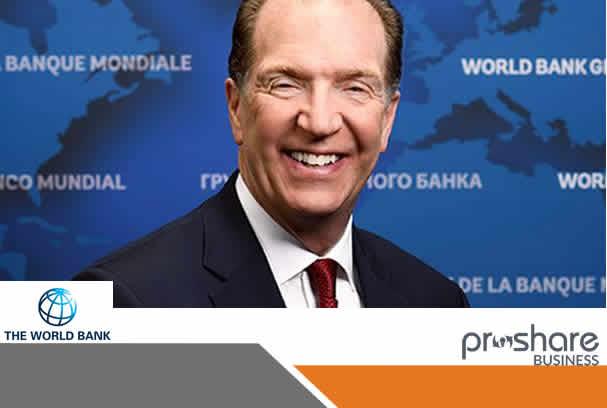David R Malpass As President Of The World Bank Group