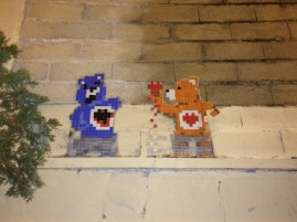 Care Bears STARE #SpaceInvader
