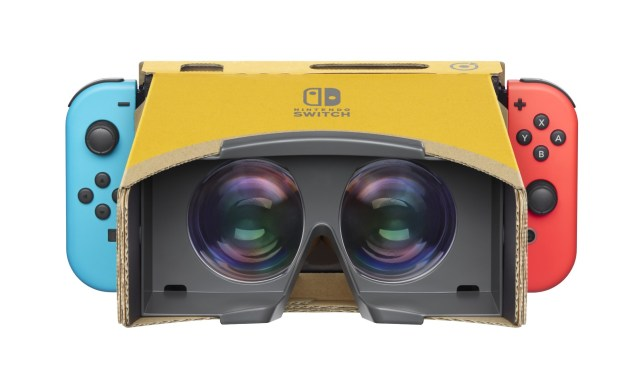 The Nintendo Switch has a very unique VR experience
