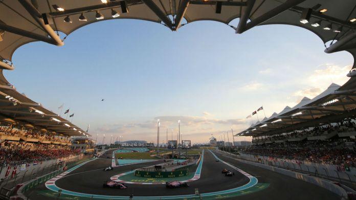 The F1 Abu Dhabi Grand Prix is held at the Yas Marina Circuit