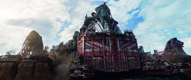 Mortal Engines is another crazy fantasy, set well over a thousand years in the future [File photo]