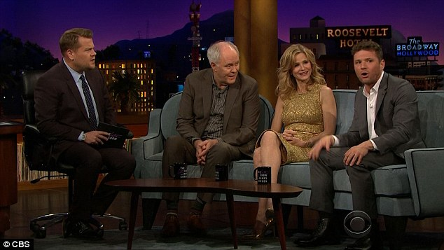 'It repulses her:' The 42-year-old father-of-three spoke about embarrassing dad moments on The Late Late Show