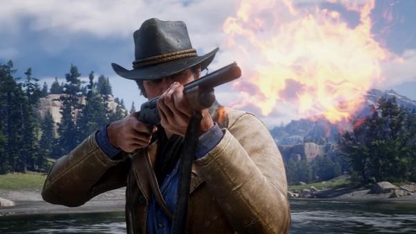 Red Dead Redemption 2 Semi Automatic Shotgun