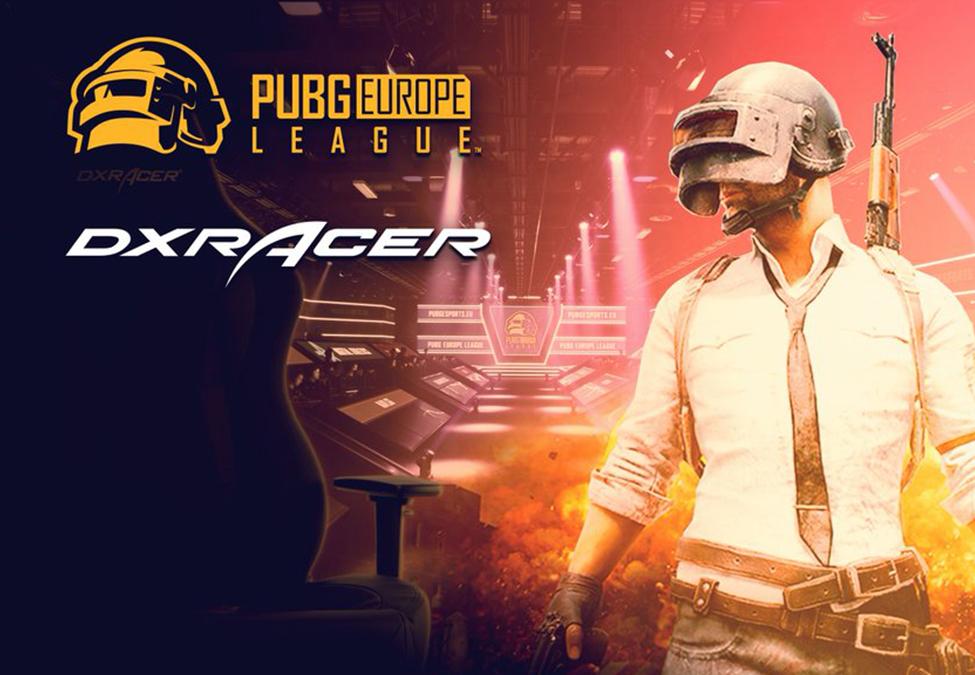 PUBG Europe League partners with DXRacer - NewsGroove Uk