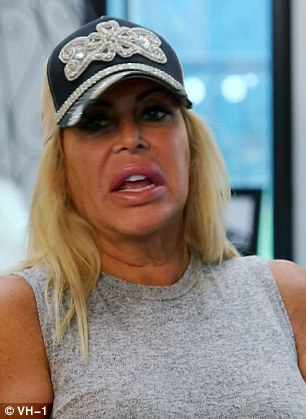 Letting it out:The drama began as Drita complained about Karen to Big Ang