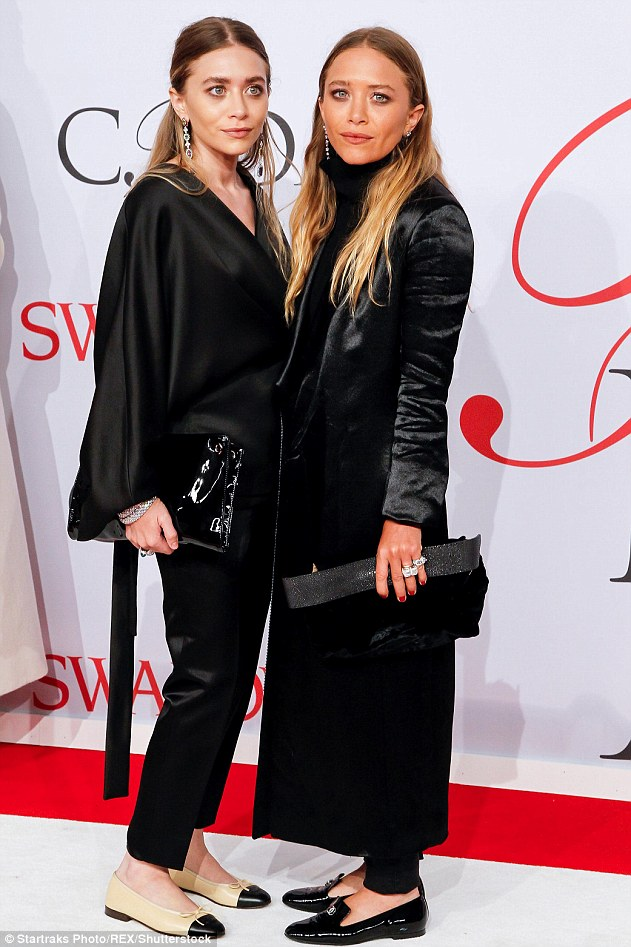 Scheduling conflicts: Mary-Kate and her twin Ashley Olsen were too busy with fashion labels The Row and Elizabeth and James to star in the series