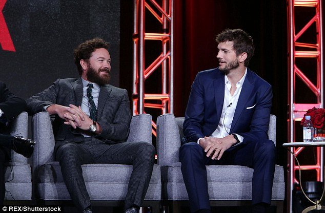The Ranch: He was appearing with Danny Masterson - the pair - who were in That 70's Show together, were discussing their new comedy series which plans to break the mould of the sitcom