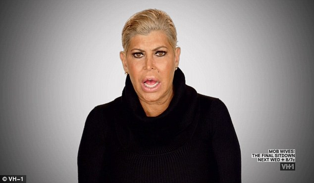 Revealing: Big Ang also revealed she had separated from her husband Neil, confessing he stressed her out