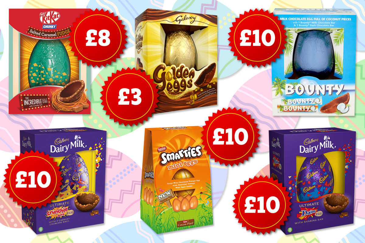 Best Large Easter Eggs 2019 Including Shells Filled With