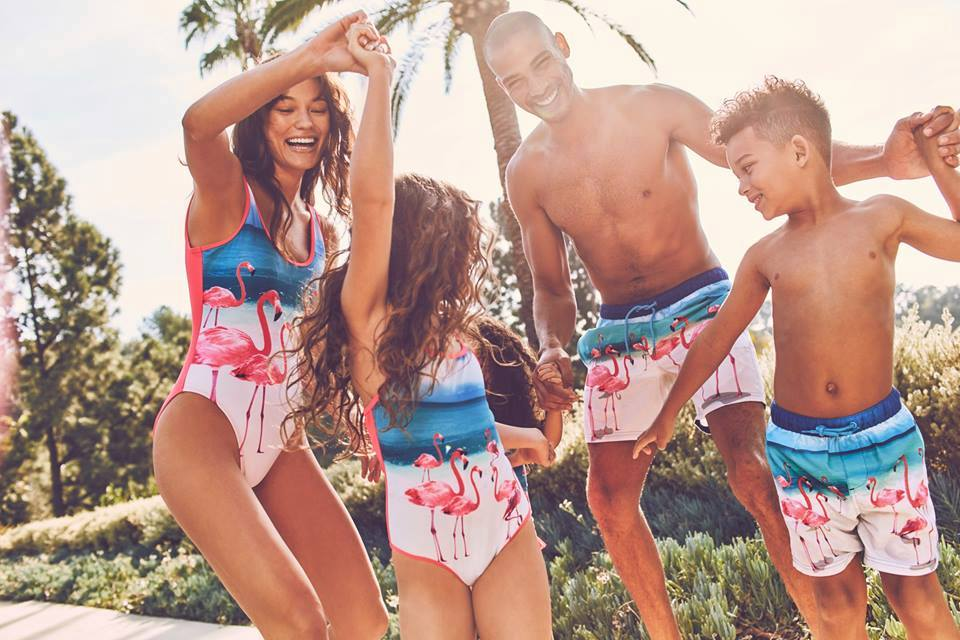 3eaa26ff82 Matalan is selling matching flamingo swimwear for the entire family – and  prices start at just £5
