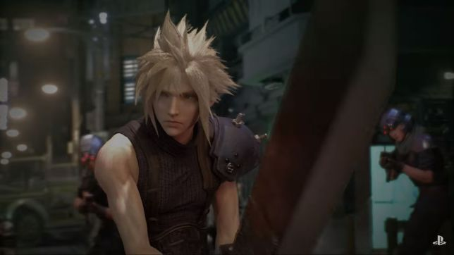 Final Fantasy VII remake - you won't have to read a thing