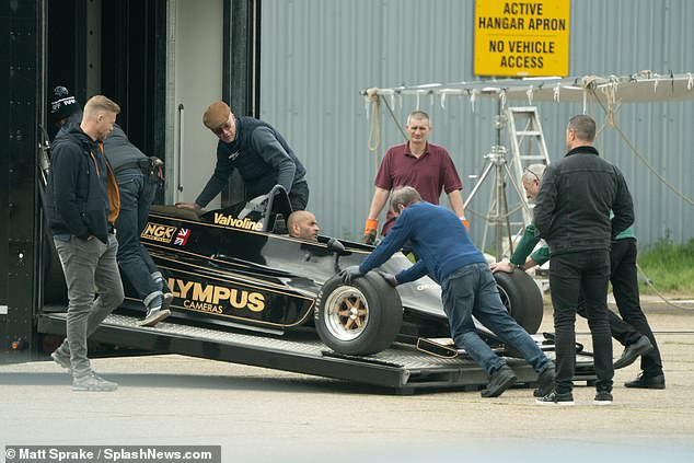 Top Gear New Hosts Freddie Flintoff And Paddy Mcguinness Watch As