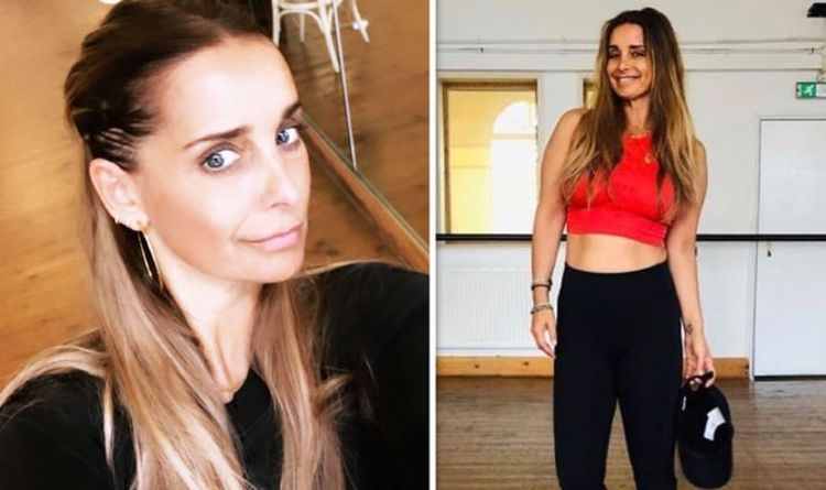 Louise Redknapp Instagram: 'That was tough' Star flaunts