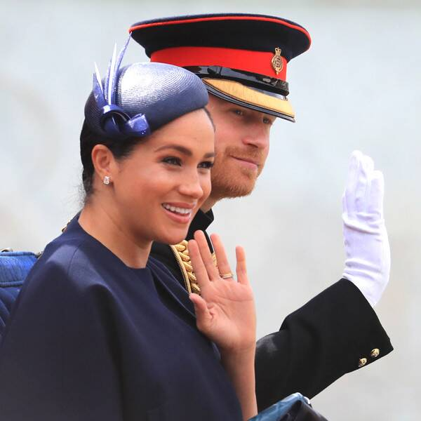 Meghan Markle Makes First Public Appearance Since Giving