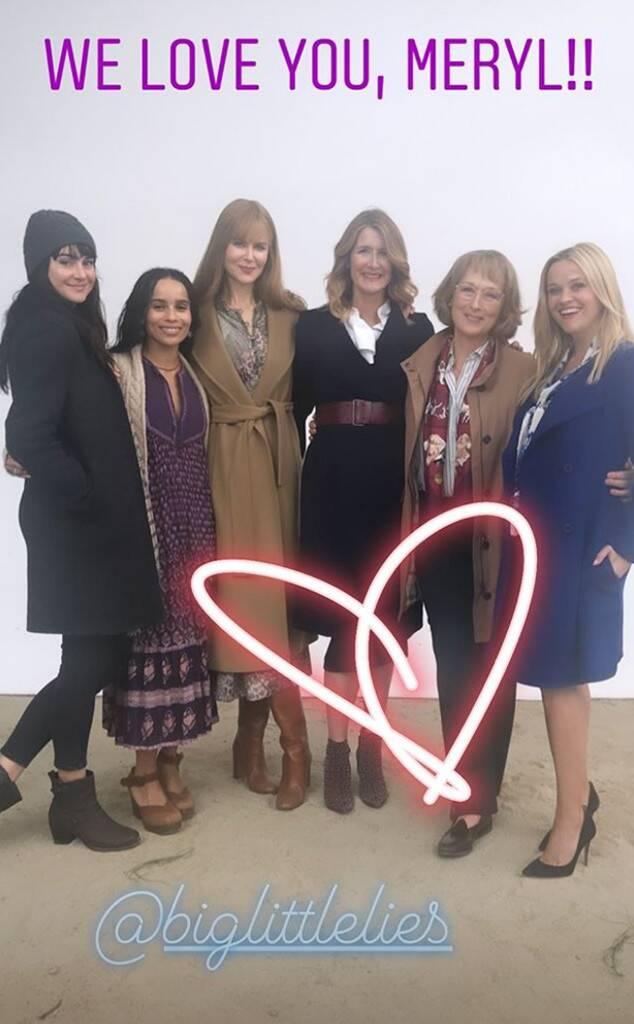 Meryl Streep, Birthday, Big Little Lies, Cast, Reese Witherspoon, Nicole Kidman