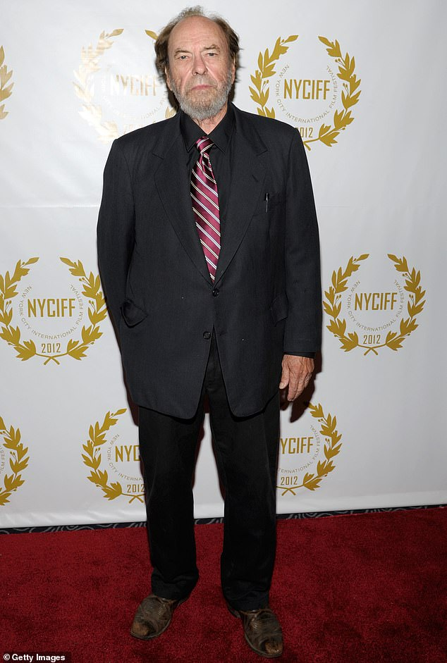 Gone too soon: Character actor Rip Torn died Tuesday at age 88, surrounded by his family at his Lakeville, Connecticut home; pictured in 2012