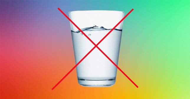 the anti water agenda has found a home on Twitter
