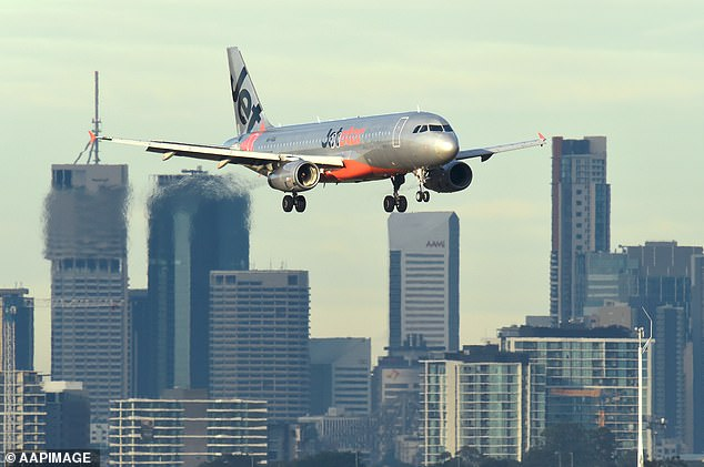 Ordeal: Martha told Daily Mail Australia on Tuesday that she's been going through hell ever since her Jetstar flight to Melbourne was cancelled the previous day. Pictured: Stock image