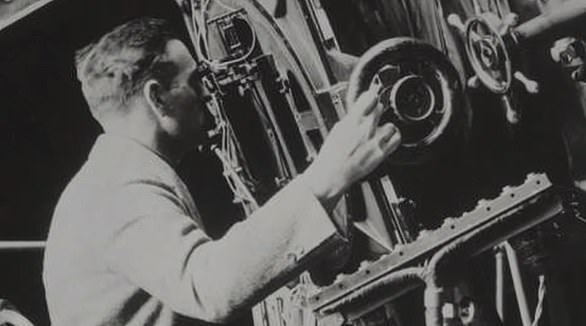 The Hubble telescopeis named after famed astronomer Edwin Hubble who was born in Missouri in 1889 (pictured)