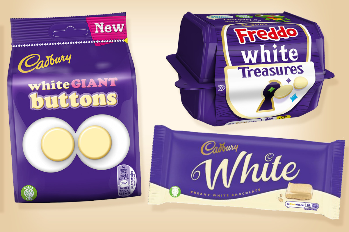 Cadburys New Range Includes A White Chocolate Bar And You