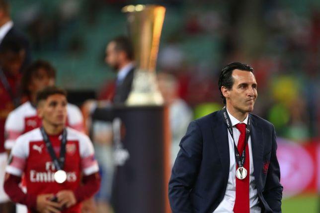 Arsenal were beaten 4-1 in last season's Europa League final against Chelsea