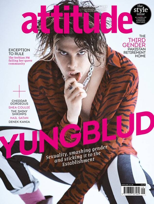 Yungblud, Attitude, September 2019 cover